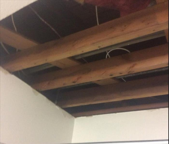 Wet Bathroom Ceiling